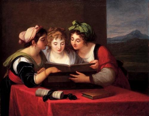 mujeres leyendo 6